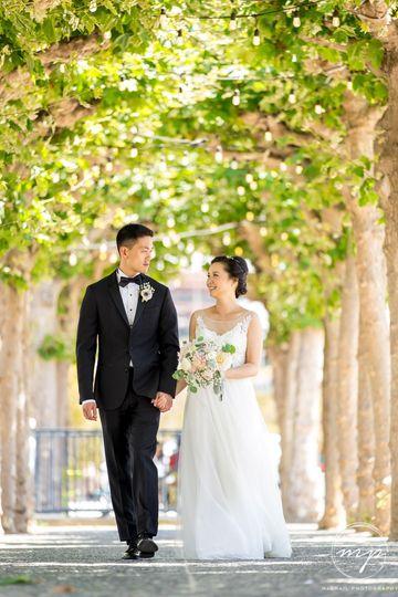 San Francisco bridal picture