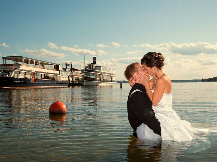 Tmx Kissing In Water 51 38055 1557938722 Lake Geneva, WI wedding venue