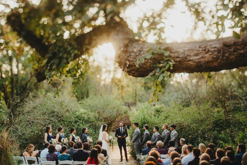 Ceremony front wedding court