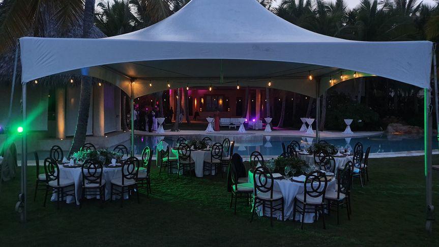 Beautiful event setup