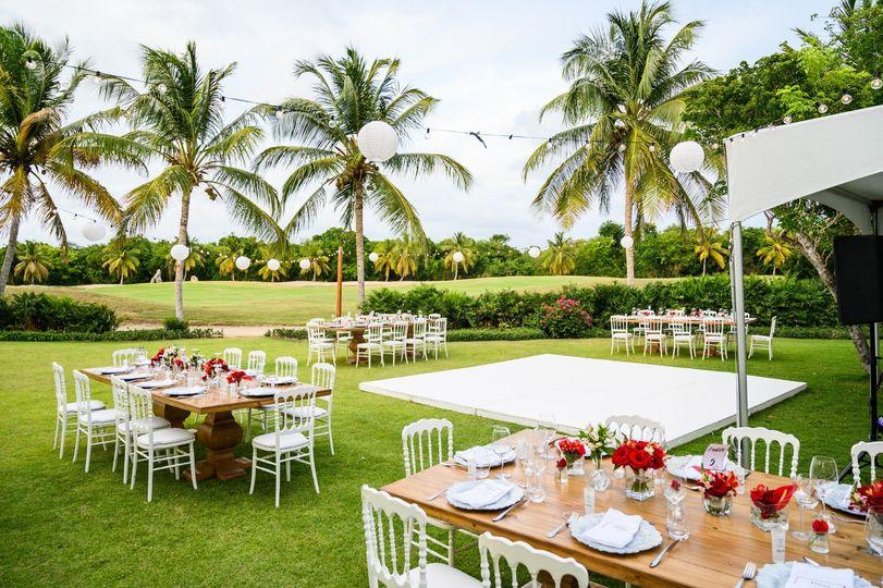 Private Villa Reception