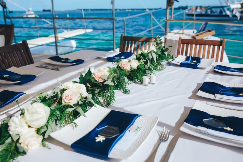 Private Boat reception