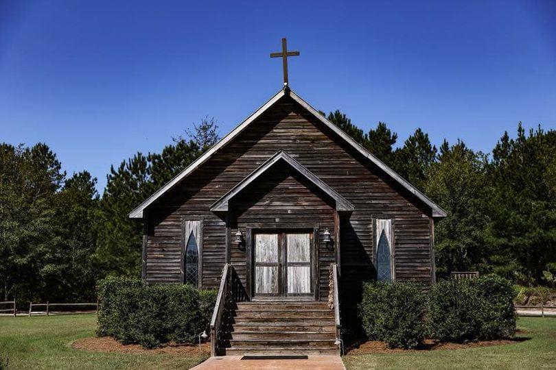 A church venue (Photography By Barry Polk)