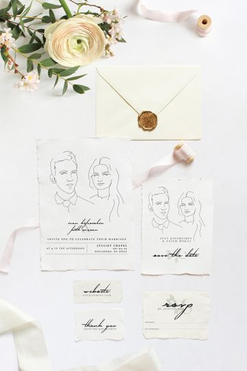Illustrated Invite Suite