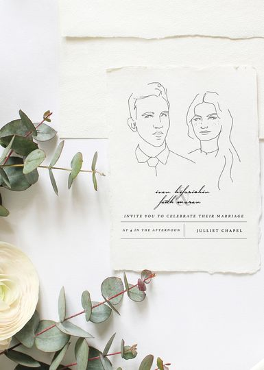 Custom Illustrated Invite