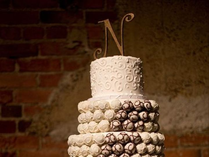 Tmx 1394116211655 Mocha Cak Frisco, TX wedding cake