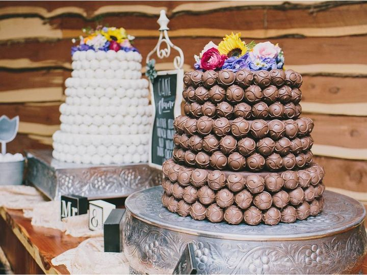 Tmx 1445442465486 Bride And Grooms Cake Ball Cakes Cropped Frisco, TX wedding cake
