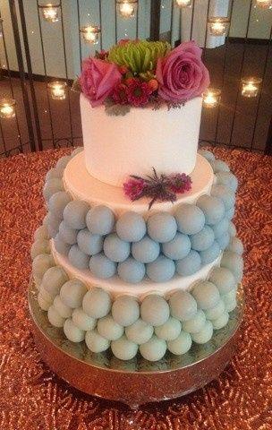 Tmx 1445442488110 Blue Green Wedding Cake Cropped Frisco, TX wedding cake