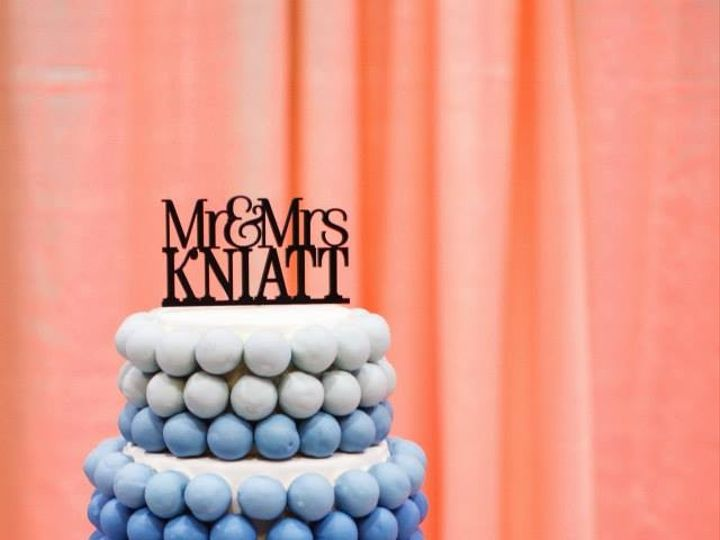 Tmx 1445442496840 Blue Ombre Wedding Cake Knaitt Frisco, TX wedding cake