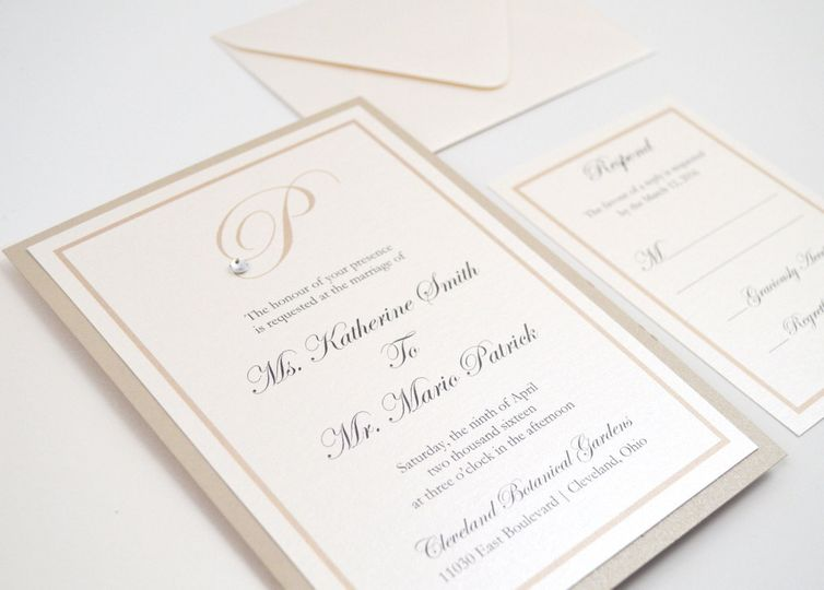 Katherine Wedding Invitation