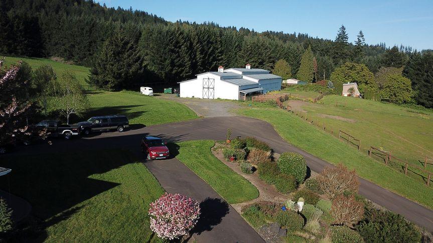 Aerial view - pre-renovation