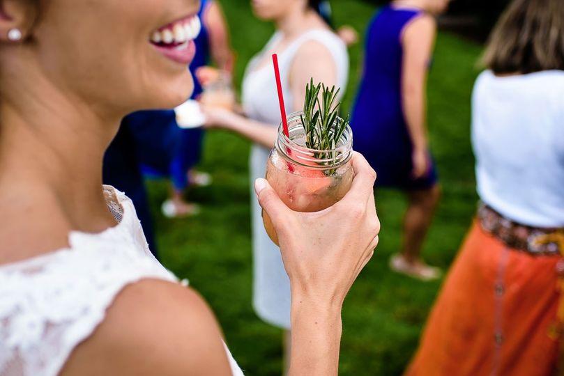 Cocktail hour | Hannah Photography