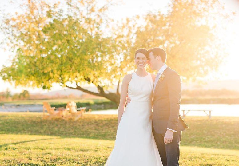 The newlyweds | Meagan Emilia Photography