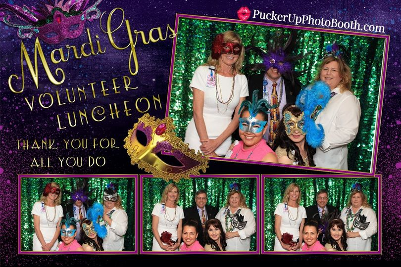 Mardi Gras Themed Event with Customized template to match.   Check out all our packages and features...
