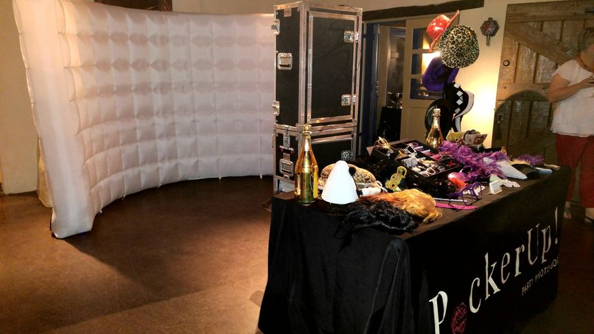 Another Setup with out Classic Booths.   Check out all our packages and features at...