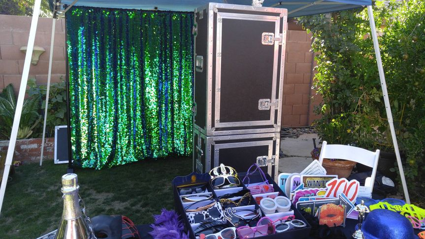 Our Mermaid Peacock Backdrop.   Check out all our packages and features at...