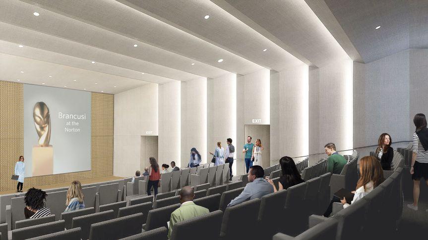 A 200- seat auditorium