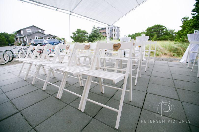 Wedding ceremonyn area
