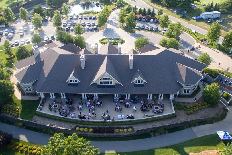 Exterior view of the Tullymore Golf Resort