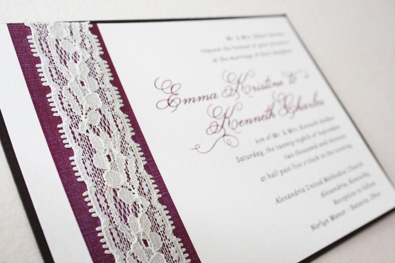 Creative Invites and Events Invitations Cincinnati OH WeddingWire