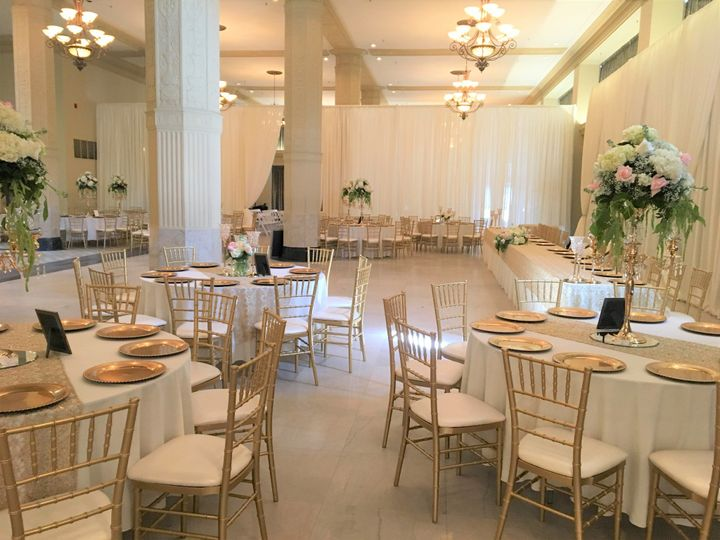 The Grand Ballroom reception