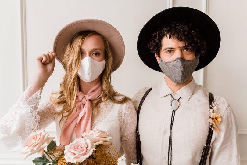 Masks - Jessi and Bo