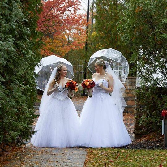 Lovely bride wedding
