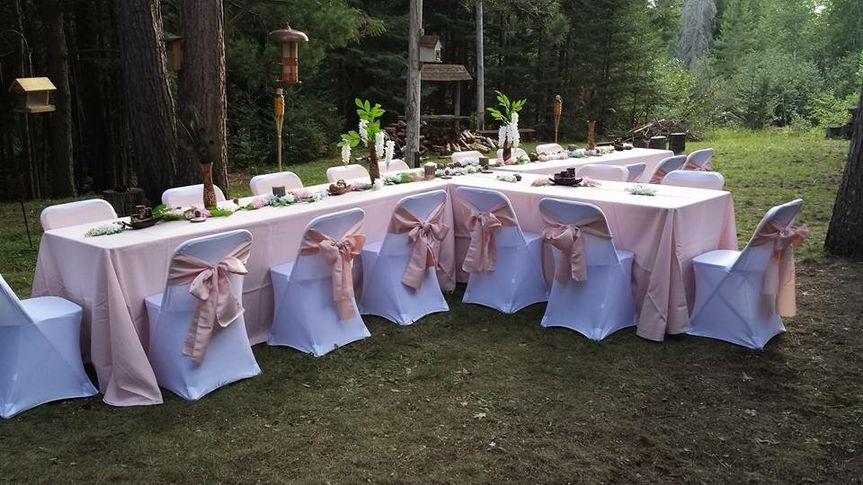 Outdoor Blush Setting