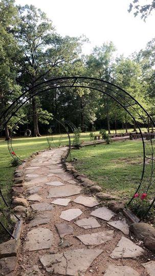Bridal walkway