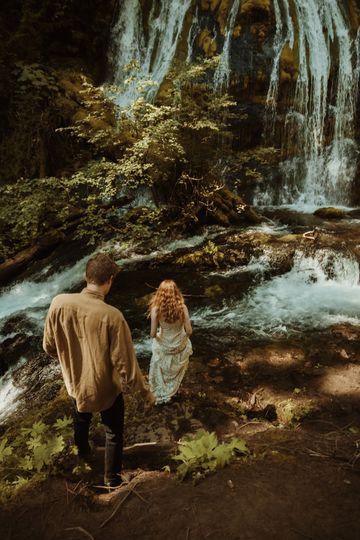 Panther Creek Falls Elopement