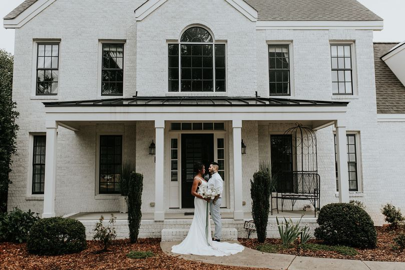 Dominique + Qasem. Created, styled, and Planned by The Gathering Co.