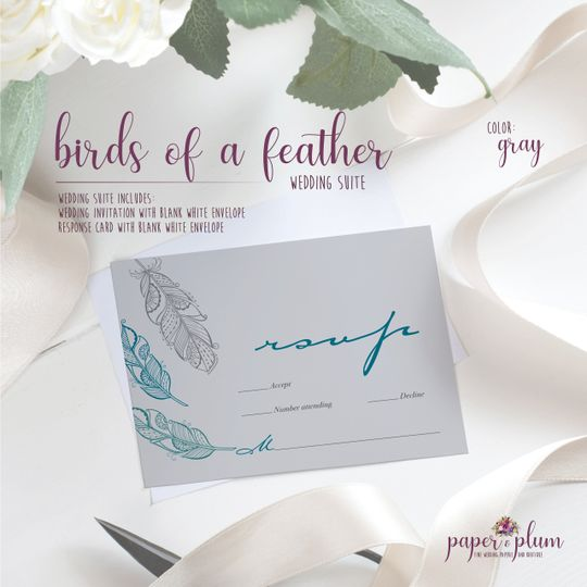 Birds of a feather rsvp
