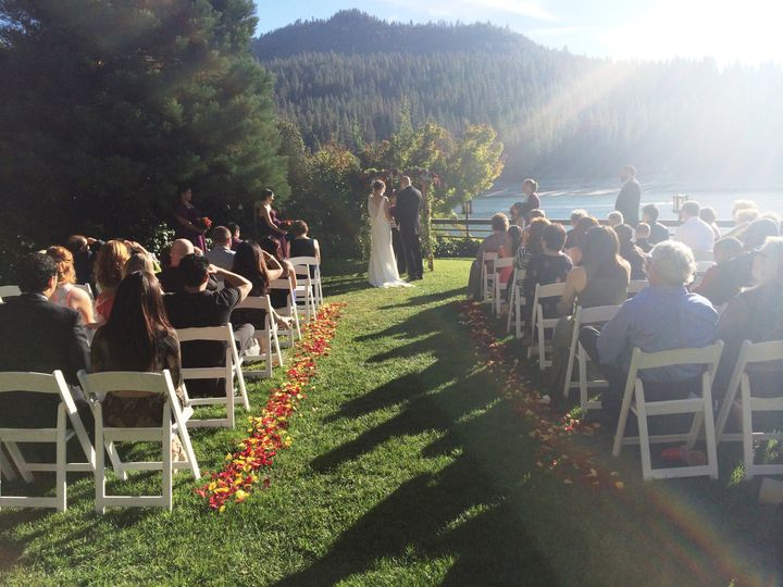 Wedding cderemony