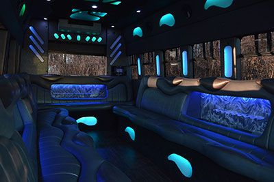 Uptown limo and party bus