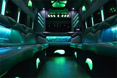 20 passenger interior