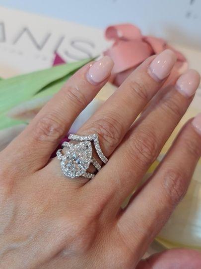 Custom wedding jewelry