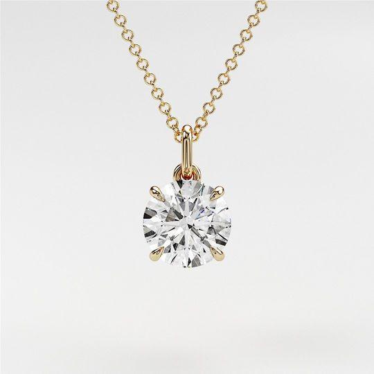 Diamond pendant/Necklace