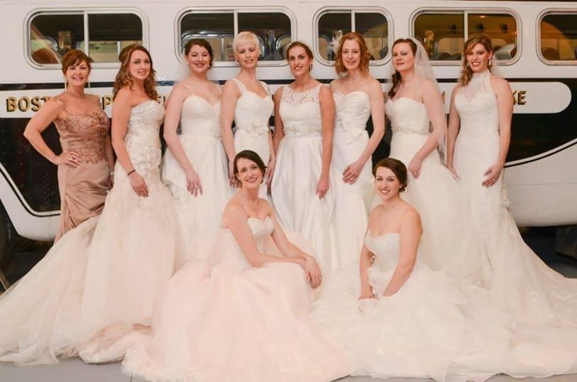 Bombshell Brides Fashion show