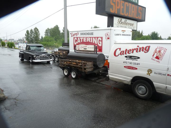 We Cater your Event 25-2500 people. 425-745-3340