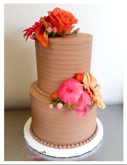 800x800 1471120943097 chocolate buttercream ripple texture fresh floral