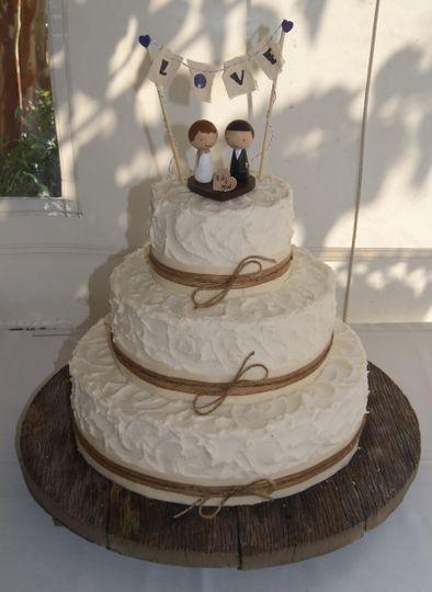 bride cake 36