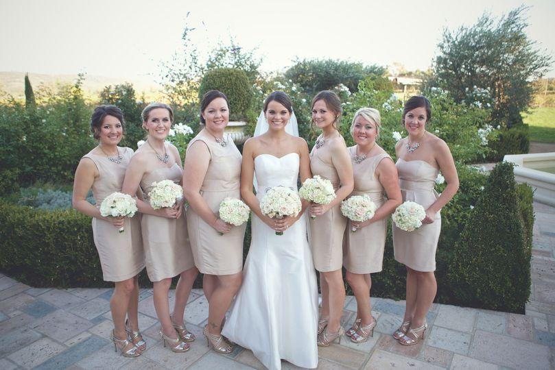Wedding party coordination