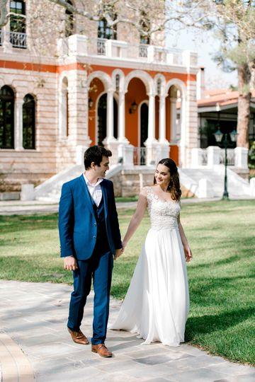 Bride and groom - Athens Greece