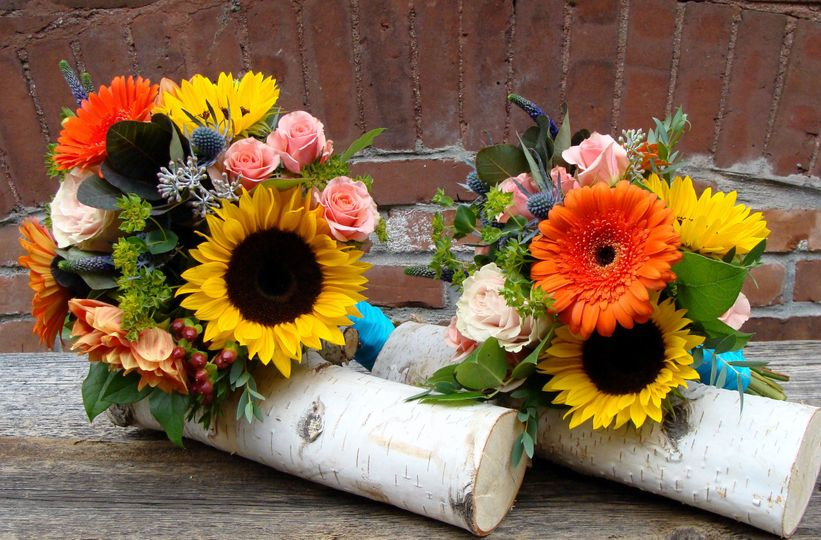 Sunflower arrangements