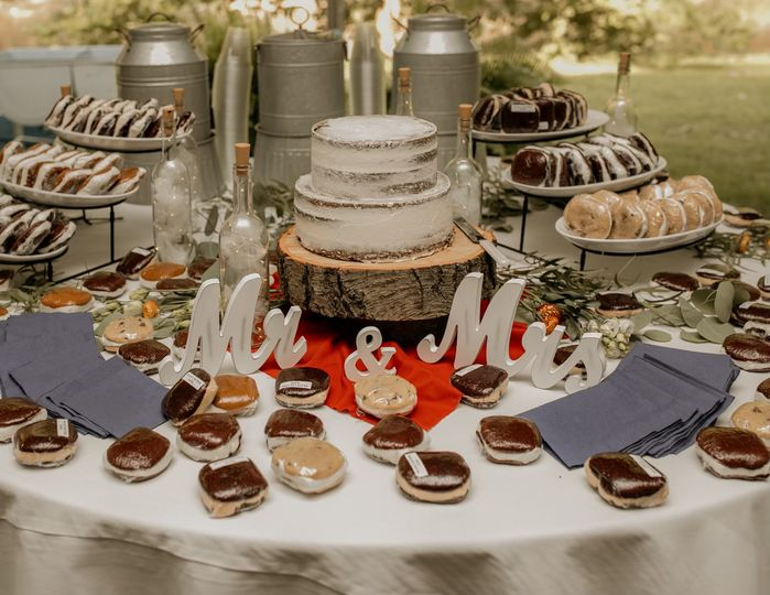 Rustic Farmhouse Dessert Table