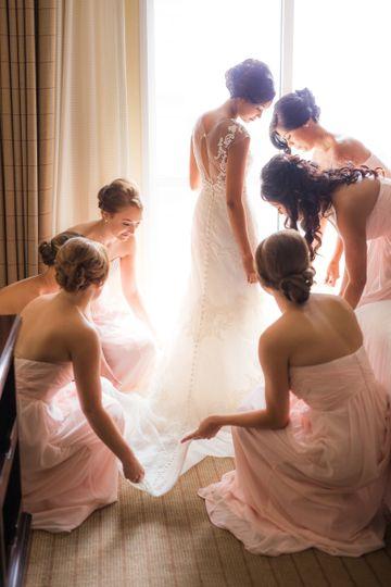 fatima and bridesmaids homepage slider