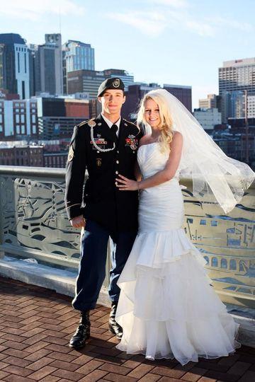 Lovely couple - Brides by Glitz Nashville