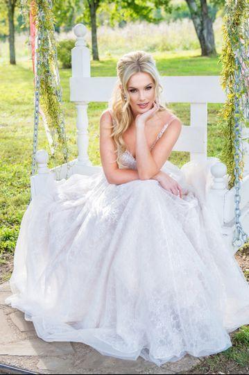 Bridal portrait - Brides by Glitz Nashville