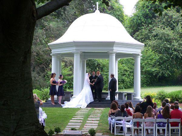 Heron dome wedding