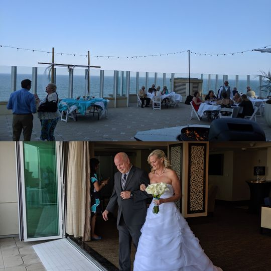 May 2019 Oceanfront Wedding